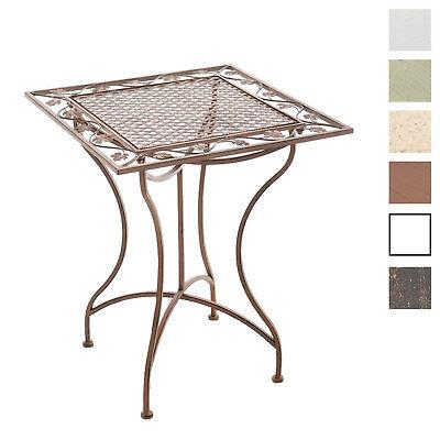 Gartentisch Eisen Eisentisch Shabby Chic Tisch