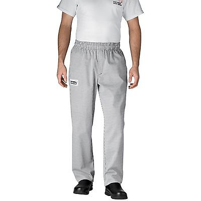 NEW HOUNDSTOOTH FIVE-STAR Chefwear COOK KITCHEN 3640 Chef Pant 3XL FREE SHIPPING