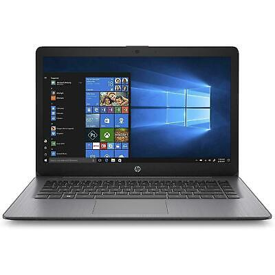 "HP Stream 14"" Laptop AMD A4-9120e Dual-Core DDR4 4GB 32GB Win10 Home Black"