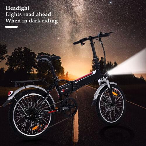 Klapprad Elektrofahrrad 20 Zoll Ebike Fahrrad 7Gang Shimano Pedelec Citybike 36V