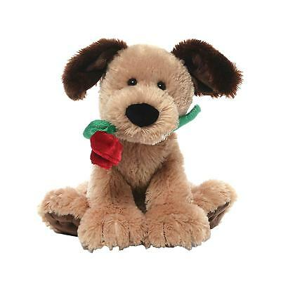 Valentine's Day Romantic Gift Cute Soft Dog Stuffed Animal Plush for Wife Girl