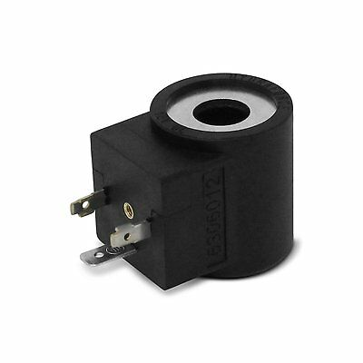 Hydraforce 6306012 Solenoid Valve Coil 3 Prong Din Connector 12v Dc Size 08