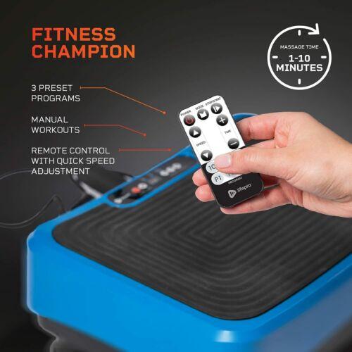 LifePro Waver Vibration Plate Exercise Machine (Black)