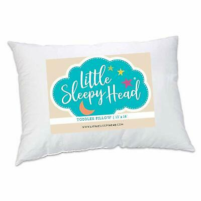 Toddler Pillow - Soft Hypoallergenic - Best Pillows for Kids! Better Neck (Best Pillows For Kids)