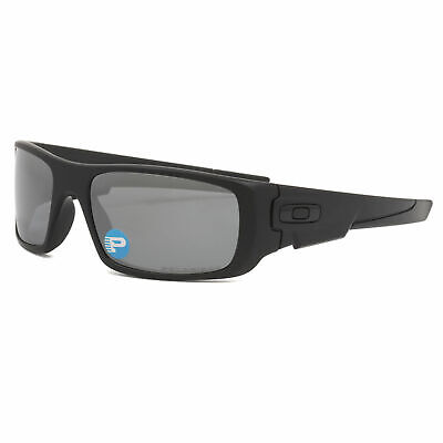 Oakley Crankshaft Sunglasses OO9239-06 Matte Black / Black Iridium (Oakley Oo Black Iridium Polarized)