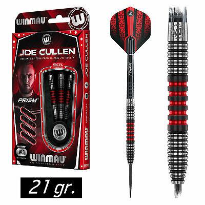 WINMAU Steel Darts Dartpfeile Steeldarts Pfeile Joe Cullen The Rockstar 21 gr.