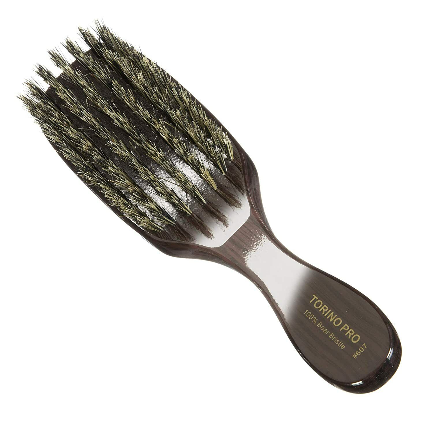 TORINO PRO Wave Brush 607 by Brush King 7 Row Medium Bristle