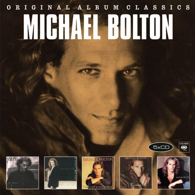 MICHAEL BOLTON - ORIGINAL ALBUM CLASSICS  5 CD NEU