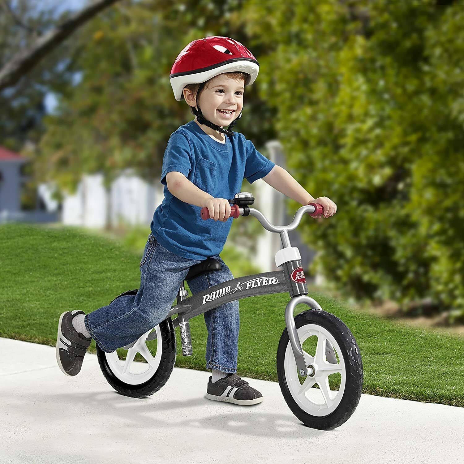 Toddler Balance Bicycle Air Bike Learn To Balance No Pedals