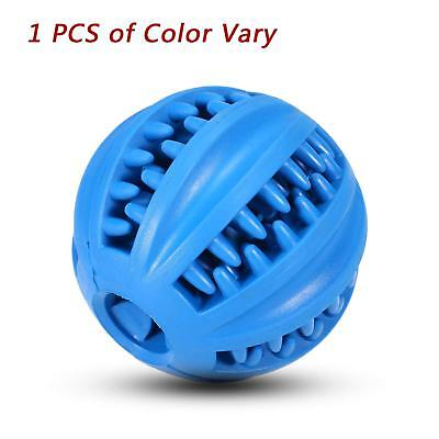IQ Treat Ball,Dog Food Dispensing Toy, Non-Toxic Natural Rubber Tooth Cleaning