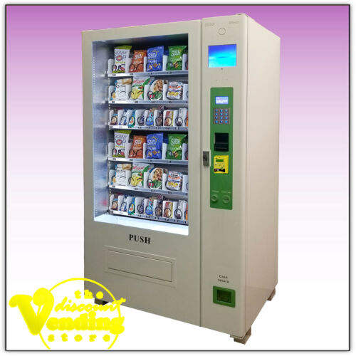 New DVS Duravend 40A Snack Vending Machine