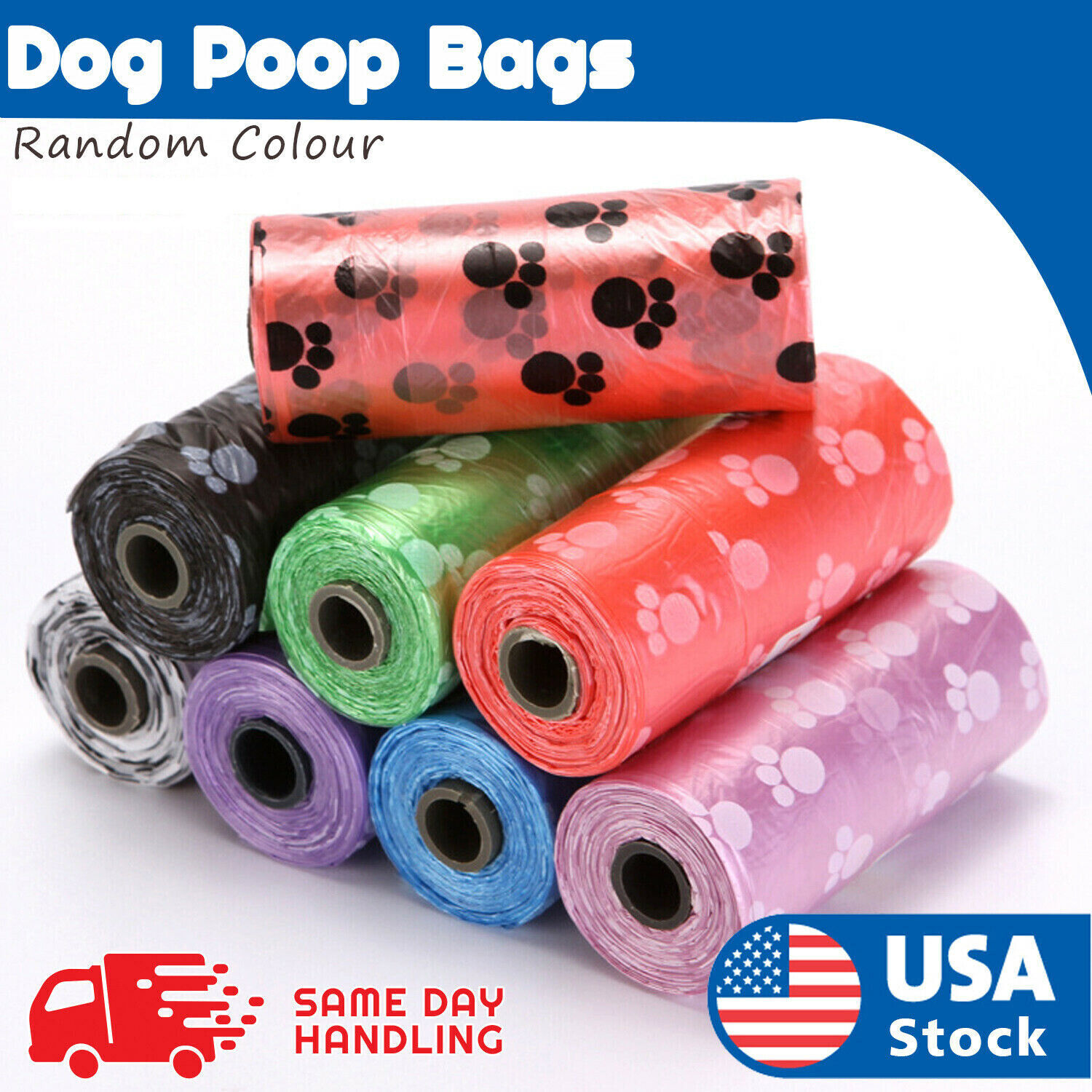NEW Poo Bags   150-900 Pooper Scooper Bags for Poop and Pet Dog Waste Dog Supplies