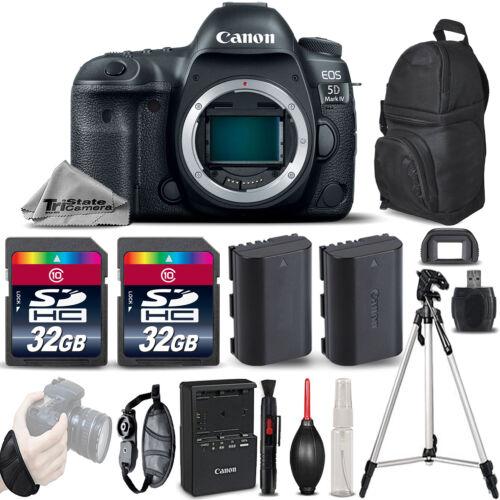 Canon EOS 5D Mark IV GPS WiFi NFC DSLR Camera Body + EXT BAT
