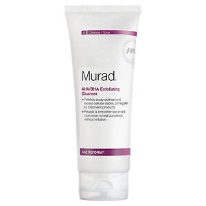 Murad Age Reform AHA/BHA Exfoliating Cleanser 6.75 oz New in the box