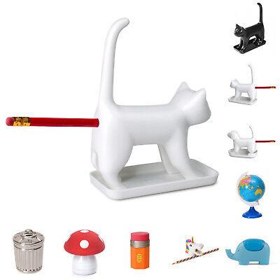 Auswahl lustige Bleistiftspitzer Katze Hund Spitzer Einhorn Radiergummi Elefant