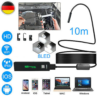 USB Wifi Endoskop Inspektion Kamera LED Endoscope fr iPhone Android Kanal Handy