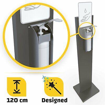 Desinfektionsmittelspender 1000ml stehend 120cm Kontaktlose mobiler zweiseitig
