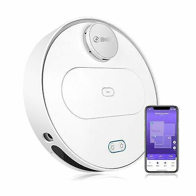 360 S6 White Robotic Vacuum Cleaner Robot Sweeping 2-in-1 Vacuuming & Mopping US