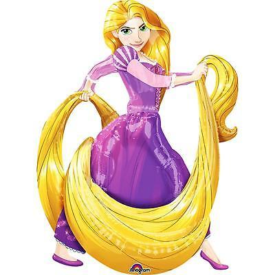 Disney Princess Rapunzel, Airwalker, Folienballon 101 x 129 cm NEU & OVP ()