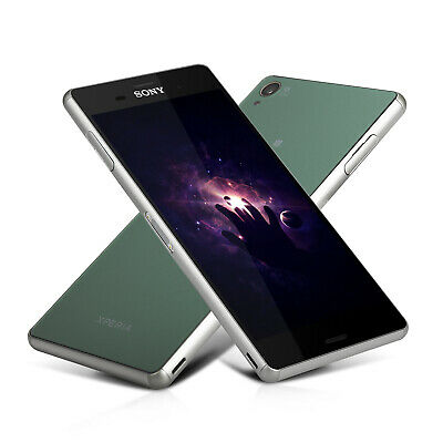 Sony Xperia Z3 D6603 16GB GSM Unlocked 20MP Smartphone Black/White/Green/Purple