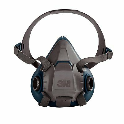 3m 49491 Rugged Comfort Half Facepiece Reusable Respirator 6503 Large