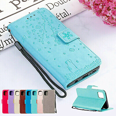 Leather Wallet Case For iPhone 11 Pro Max X XS XR 7 8 6 6S Plus Flip Card Holder