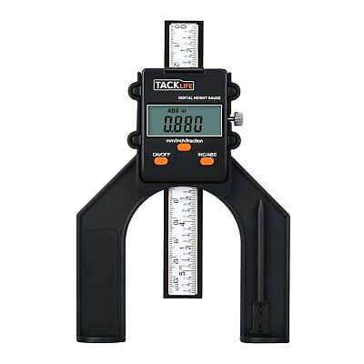Digital Height Gauge Depth Gauge With Three Measurement Modes Magnet Based Sta