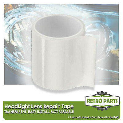 Headlight Lens Repair Tape for Tesla.  Front Clear Light Lamp MOT Fix