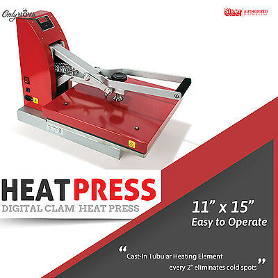 Siser Digital Clam Heat Press 11x15 Free Shipping