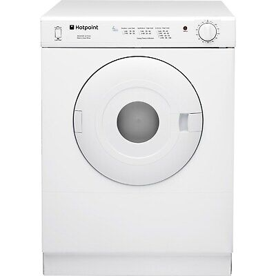 Hotpoint 4kg Compact Freestanding Vented Tumble Dryer Polar White