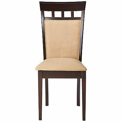 Backside Chairs (Coaster Home Furnishings Gabriel Wheat Back Side Dining Room Chairs (Set of)