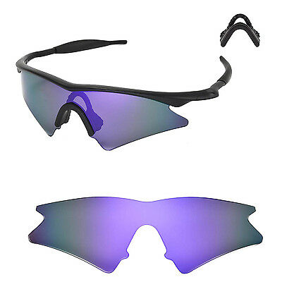 6b0e366fcb WL Polarized Purple Replacement Lenses For Oakley New M Frame Sweep  Sunglasses