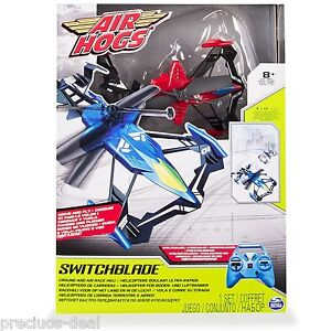 Air Hogs Switchblade Radio Controlled Helicopter - Red