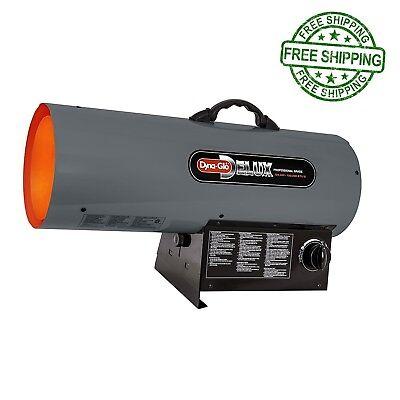 Propane Forced Air Heater Natural Gas Portable BTU Garage Shop 150K Torpedo NEW - Forced Air Gas Heaters