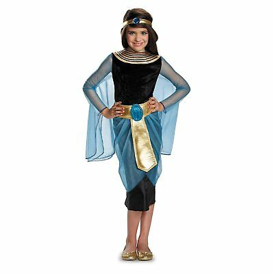Girls Sapphire Cleopatra Kids Costume | Disguise 84061](Cleopatra Costume Girls)