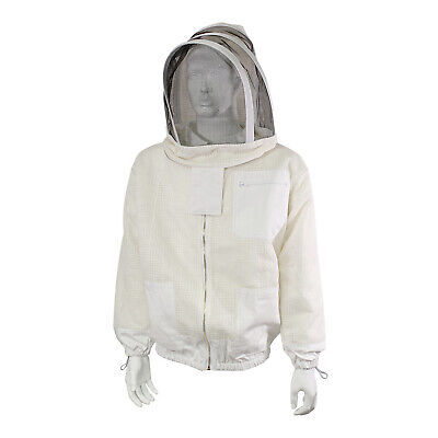 Rural365 Ventilated Beekeeping Jacket And Veil - Medium Ventilated Bee Jacket