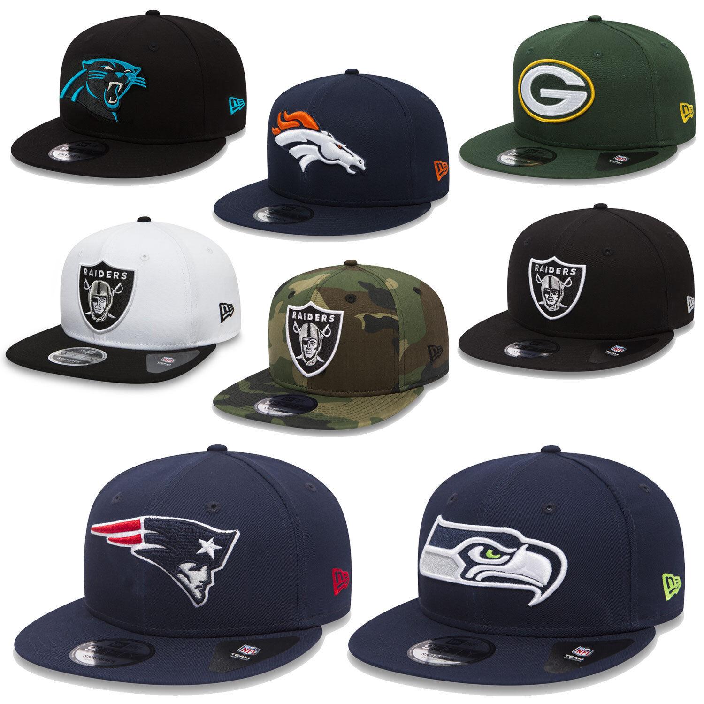 Nueva era 9Fifty Snapback gorra NFL equipo classic 2018 Seahawks patriotas  Raiders etcetera f850f623e64
