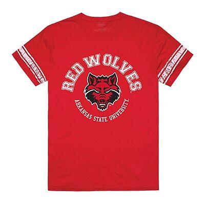Arkansas State University Redwolves NCAA Cotton College Football T-Shirt S-2XL ()
