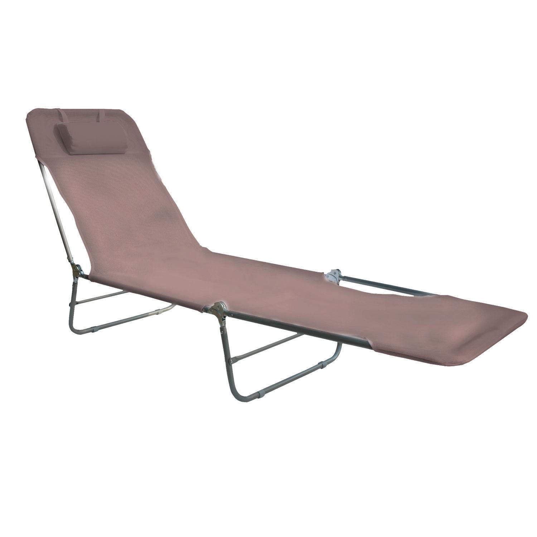 Aluminium Strandliege Gartenliege Sonnenliege Strandmatte Liegestuhl Sonnendach