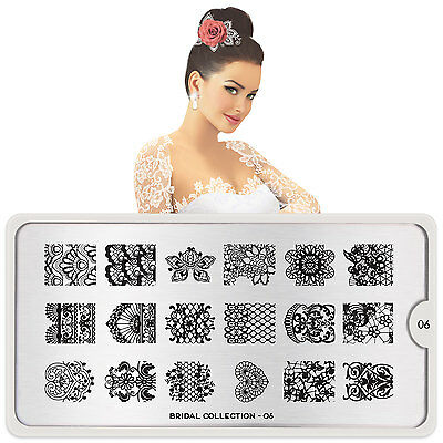 MoYou London Stamping Schablone Bridal 6