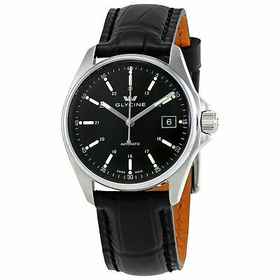 Glycine 3916.19.LBK9 Men's Combat 6 Black Automatic Watch