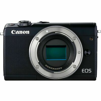 Canon EOS M100 Mirrorless Digital Camera (Black) Body - USA Model - Free -