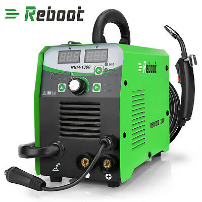 Reboot 5 In 1 Lift Tig Arc Inverter Flux Core Wire Gasless Mig Welder Machine