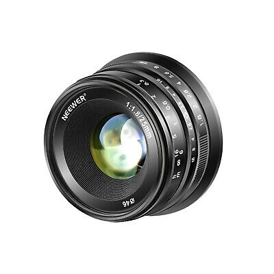 Neewer 25mm f/1.8 Manual Focus Lens for Sony E-Mount Digital Mirrorless Cameras