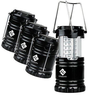 Etekcity 4PCS Portable Outdoor Collapsible LED Camping Lantern