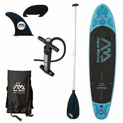 Aqua Marina Vapor    10 10  Inflatable Stand Up Paddle Board  Sup  W   Paddle