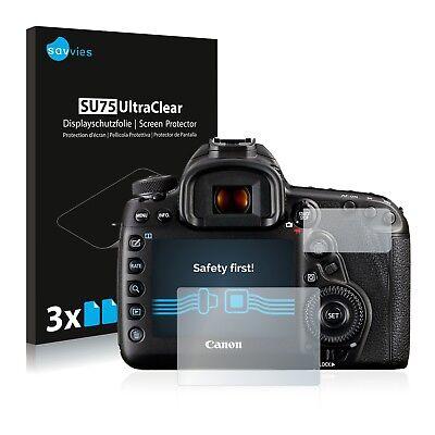 6x Displayschutzfolie Canon EOS 5D Mark IV Schutzfolie Klar Folie Displayfolie