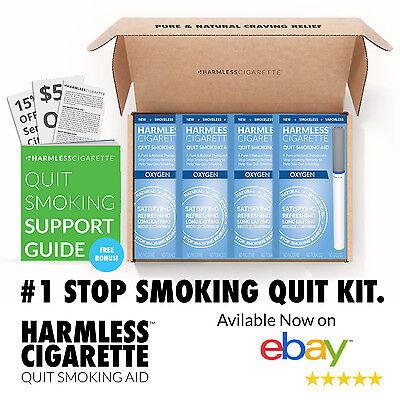 BEST VALUE 4 Week Quit Kit / Stop Smoking Aid / Inc. FREE Quit Support (Best Quit Smoking Aid)