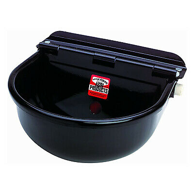 Little Giant 88esw Epoxy-coated Steel All Purpose Automatic Stock Waterer Black