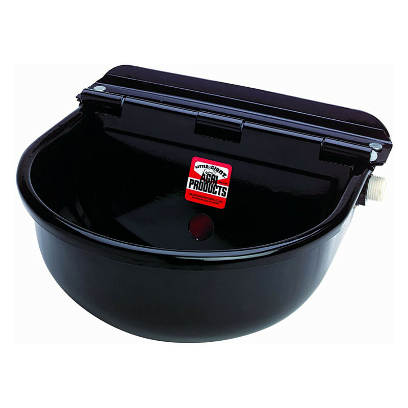 Little Giant 88ESW Epoxy-Coated Steel All Purpose Automatic Stock Waterer, Black